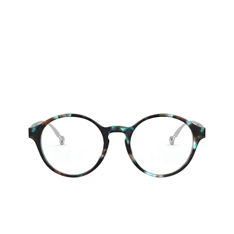 Giorgio Armani® Round Eyeglasses: AR7184 color Blue 5815.