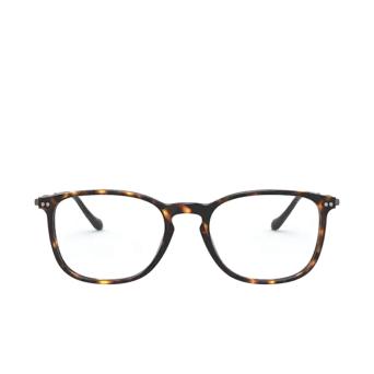 Giorgio Armani® Rectangle Eyeglasses: AR7190 color Dark Havana 5026.