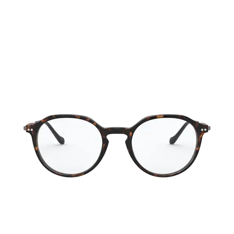Giorgio Armani® Round Eyeglasses: AR7191 color Havana 5026.