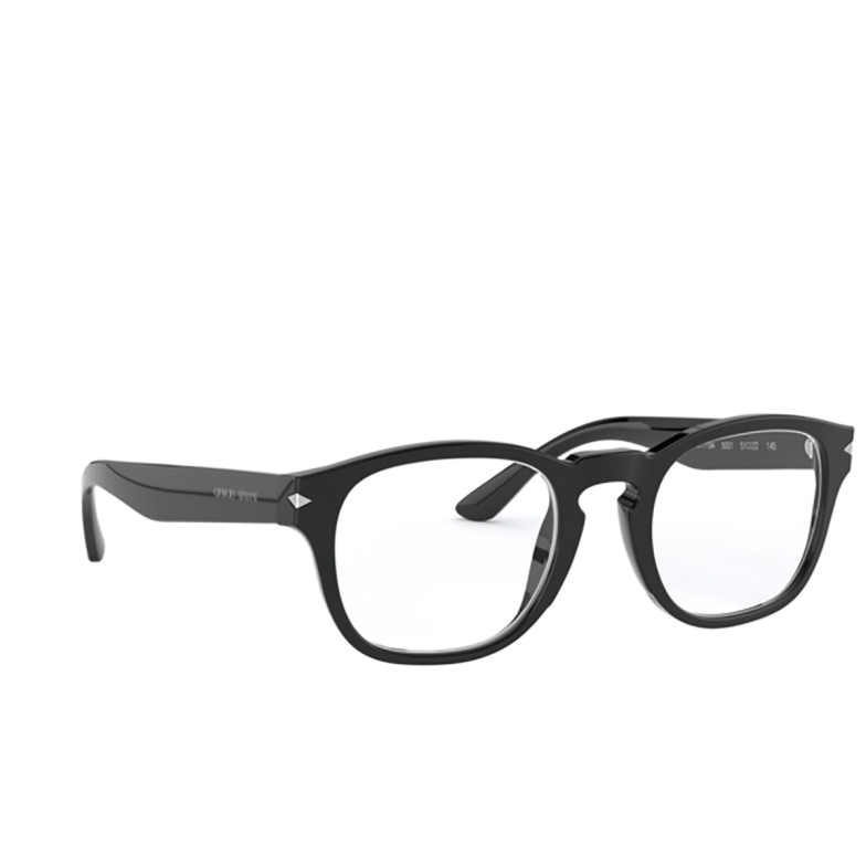 Giorgio Armani® Square Eyeglasses: AR7194 color Black 5001.