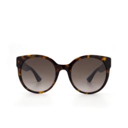 Gucci® Sunglasses: GG0035S color Havana 004.