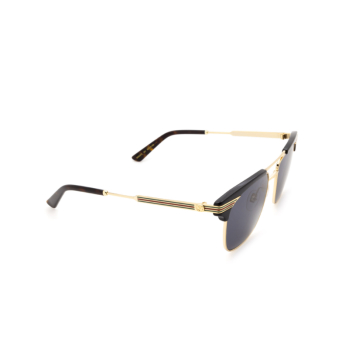 Gucci® Aviator Sunglasses: GG0287S color Black 001.