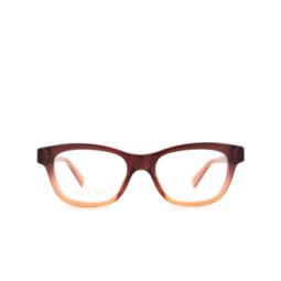 Gucci® Eyeglasses: GG0372O color Brown 006.