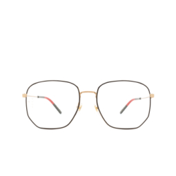 Gucci® Eyeglasses: GG0396O color Gold 001.