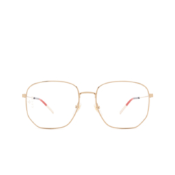 Gucci® Eyeglasses: GG0396O color Gold 002.
