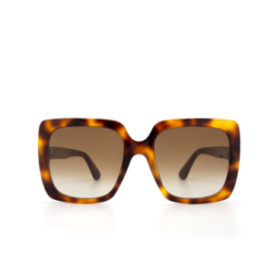 Gucci® Sunglasses: GG0418S color Havana 003.
