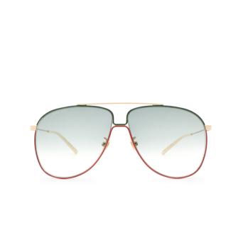 Gucci® Aviator Sunglasses: GG0440S color Gold 004.