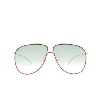 Gucci® Aviator Sunglasses: GG0440S color Gold 008.