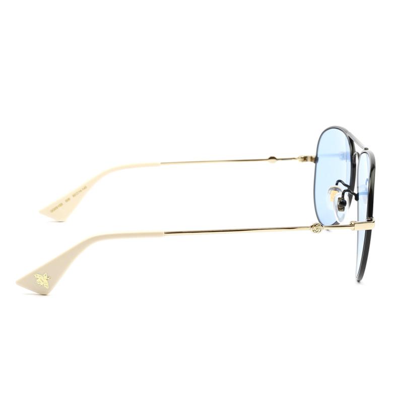 Gucci® Aviator Sunglasses: GG0515S color Black 006.
