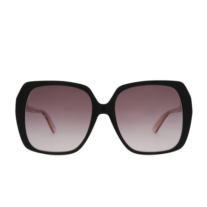 Gucci® Square Sunglasses: GG0533SA color Black 003.