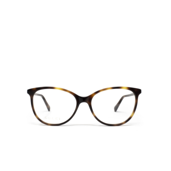 Gucci® Butterfly Eyeglasses: GG0550O color Havana 006.