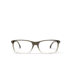 Gucci® Eyeglasses: GG0553O color Crystal Grey 004.