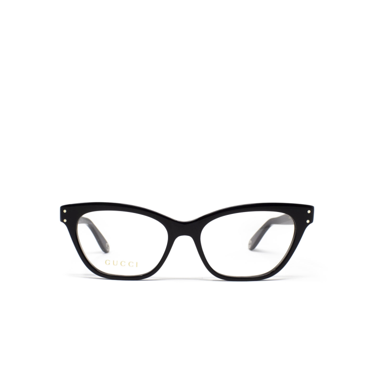 Gucci® Cat-eye Eyeglasses: GG0570O color Black 005.