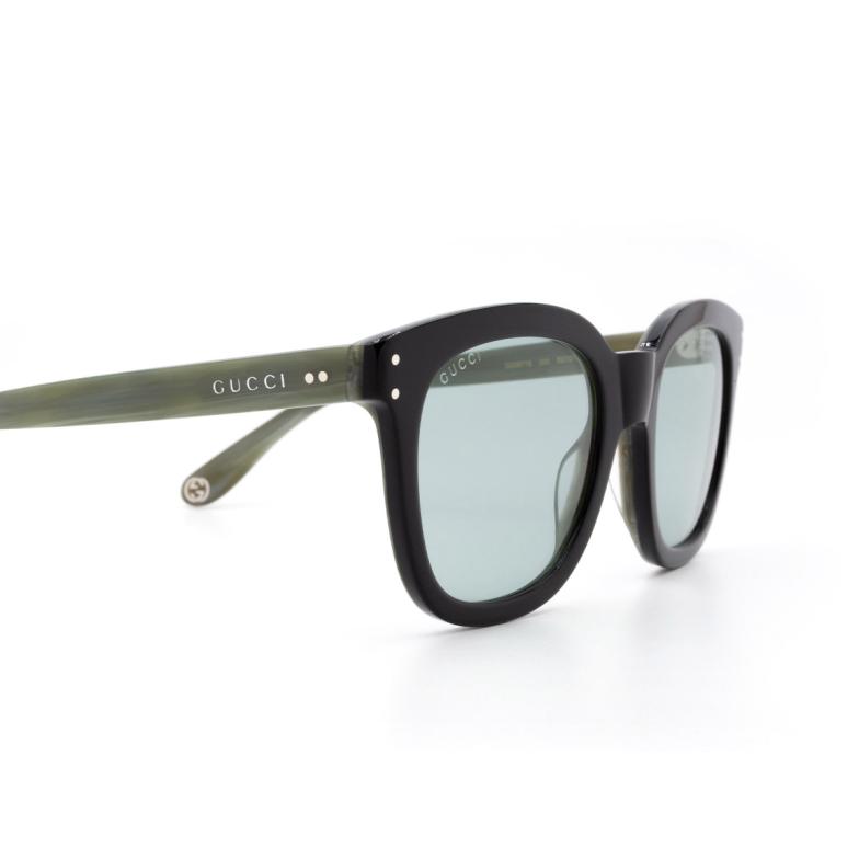 Gucci® Square Sunglasses: GG0571S color Black 003.