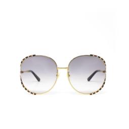 Gucci® Sunglasses: GG0595S color Black / Gold 006.