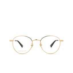 Gucci® Eyeglasses: GG0607OK color Gold 001.