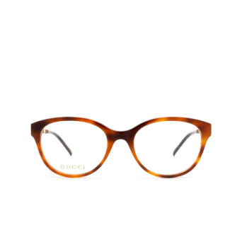 Gucci® Butterfly Eyeglasses: GG0656O color Havana 003.