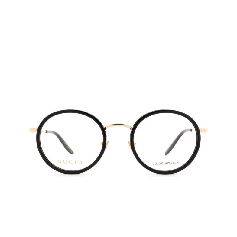 Gucci® Round Eyeglasses: GG0679OA color Black 001.
