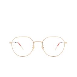 Gucci® Eyeglasses: GG0684O color Gold 003.