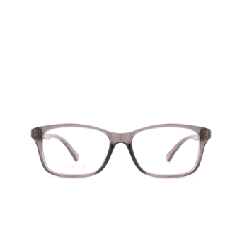 Gucci® Rectangle Eyeglasses: GG0720OA color Grey 007.