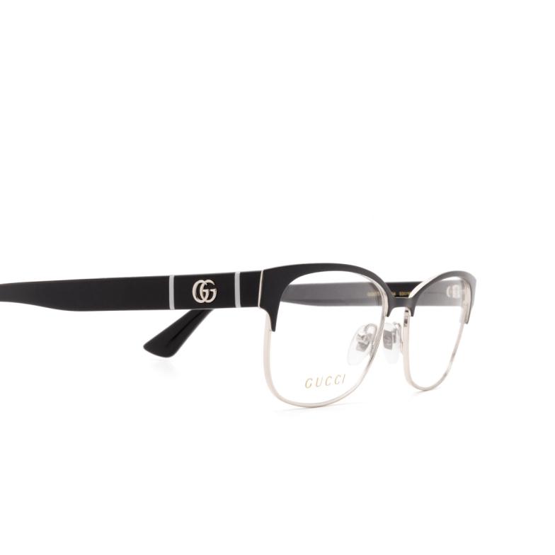 Gucci® Cat-eye Eyeglasses: GG0751O color Black 004.