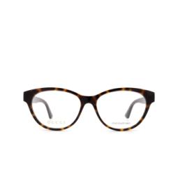 Gucci® Eyeglasses: GG0766OA color Havana 002.