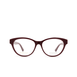 Gucci® Eyeglasses: GG0766OA color Burgundy 003.