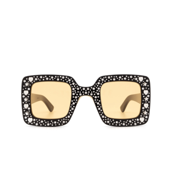 Gucci® Square Sunglasses: GG0780S color Black 007.