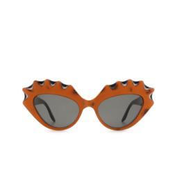 Gucci® Sunglasses: GG0781S color Orange 001.