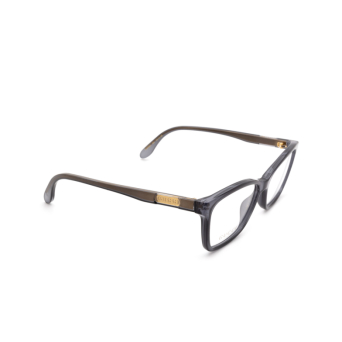 Gucci® Rectangle Eyeglasses: GG0792O color Grey 004.