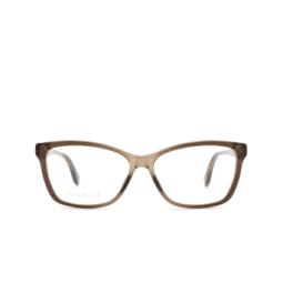 Gucci® Eyeglasses: GG0792O color Brown 005.