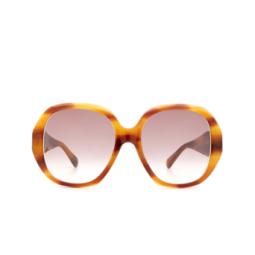 Gucci® Sunglasses: GG0796S color Havana 004.