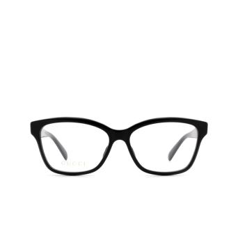 Gucci® Square Eyeglasses: GG0798O color Black 004.