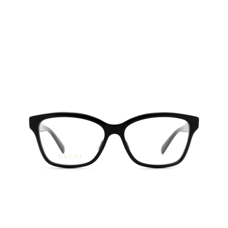 Gucci® Square Eyeglasses: GG0798O color Black 004.