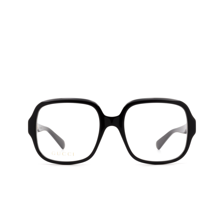 Gucci® Square Eyeglasses: GG0799O color Black 001.