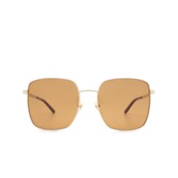 Gucci® Sunglasses: GG0802S color Gold 002.