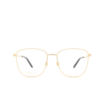 Gucci® Square Eyeglasses: GG0804O color Gold 003.