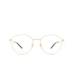 Gucci® Eyeglasses: GG0806O color Gold 004.
