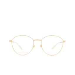 Gucci® Eyeglasses: GG0806O color Gold 006.
