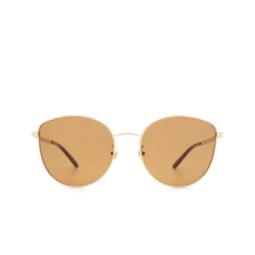 Gucci® Sunglasses: GG0807SA color Gold 002.