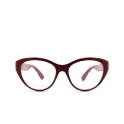 Gucci® Eyeglasses: GG0812O color Burgundy 003.