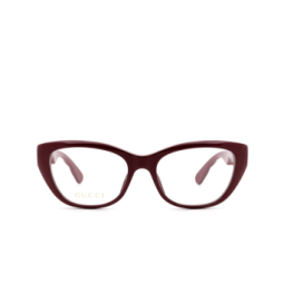Gucci® Eyeglasses: GG0813O color Burgundy 003.