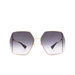 Gucci® Sunglasses: GG0817S color Gold 001.