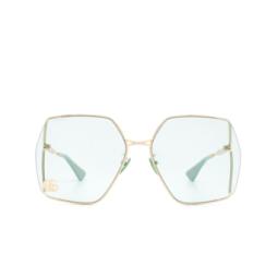 Gucci® Sunglasses: GG0817S color Gold 003.
