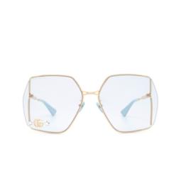 Gucci® Sunglasses: GG0817S color Gold 004.