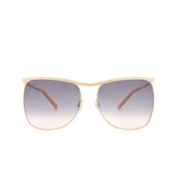 Gucci® Sunglasses: GG0820S color Gold 001.