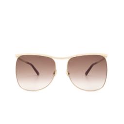 Gucci® Sunglasses: GG0820S color Gold 002.