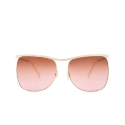 Gucci® Sunglasses: GG0820S color Gold 004.