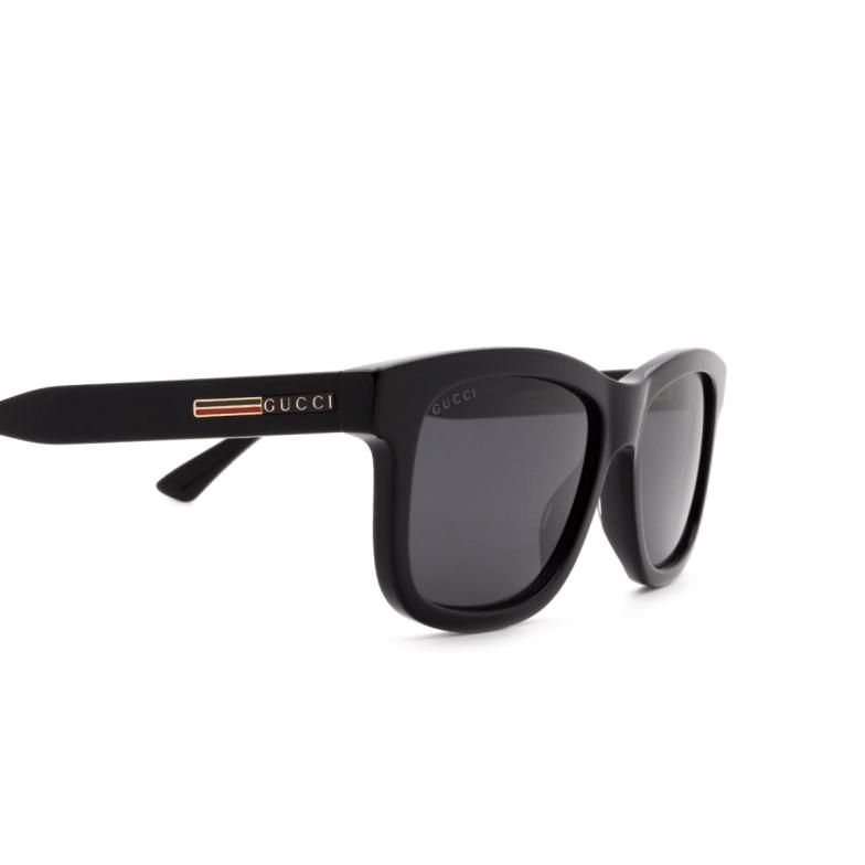 Gucci® Square Sunglasses: GG0824S color Black 005.