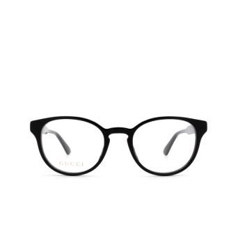 Gucci® Round Eyeglasses: GG0827O color Black 004.